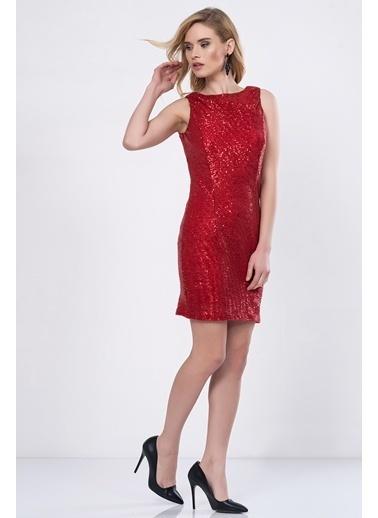 İroni Elbise Kırmızı
